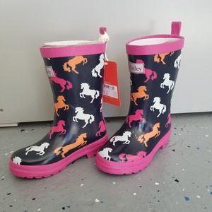 Hatley Rubber Rainboots - Playful Horse